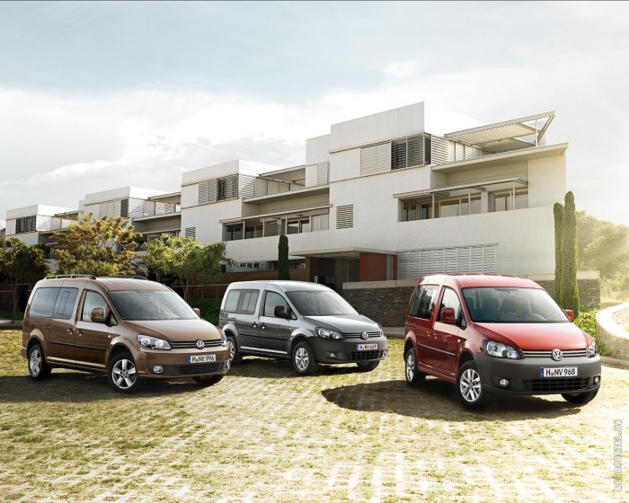 Volkswagen Caddy 2010 – фотография 1